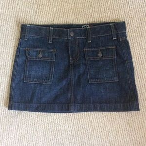 Gap Denim Min Skirt. 100% Cotton